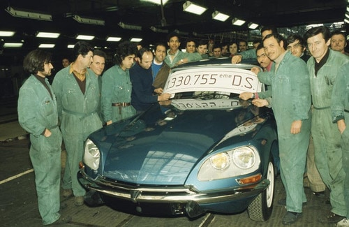 Zadnji Citroën DS 23, ki so ga proizvedli v Parizu